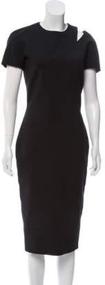 Victoria Beckham Cutout Midi Dress w/ Tags