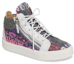Giuseppe Zanotti May London Mid Top Sneaker