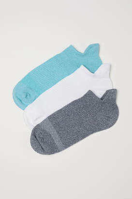 H&M 3-pack Sports Socks - Turquoise