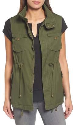 Pleione Cotton Twill Military Vest