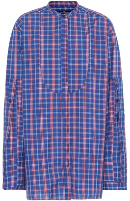 Rokh Checked cotton shirt