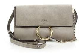 Chloé Small Faye Leather& Suede Bag