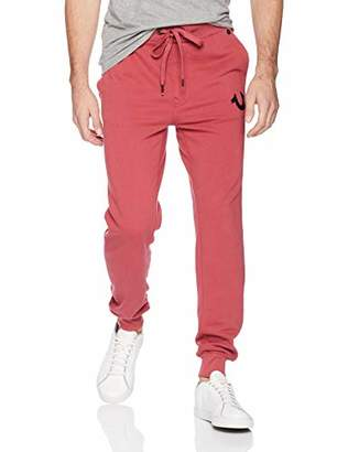 True Religion Men's Horseshoe Logo Jogger Sweatpant