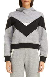 Givenchy Colorblock Hooded Sweatshirt