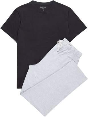 Burton Mens Basic Short Sleeve Pyjama Set