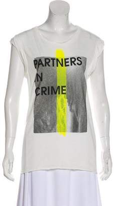 Pam & Gela Printed Sleeveless Top w/ Tags