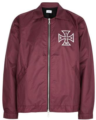 Rhude Trasher Bordeaux Nylon Jacket