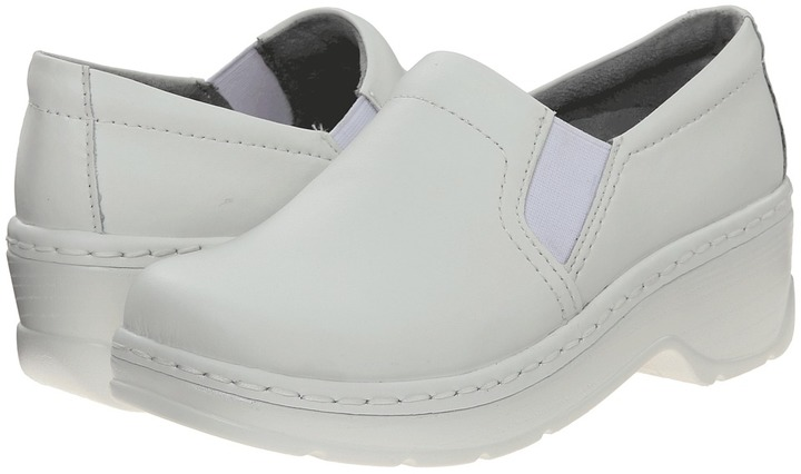 Klogs USA Naples (White Leather) - Footwear