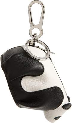 Loewe Leather Panda Pouch Key Chain