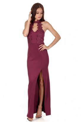 a9c43e77f4 AX Paris Women Crochet Top Maxi Dress