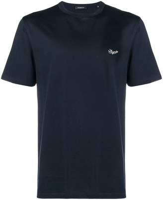 Ermenegildo Zegna embroidered T-shirt
