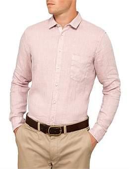 Theory Irving Pa Crown Print Shirt