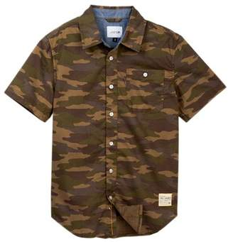 Joe's Jeans Aiden Camo Print Shirt (Big Boys)