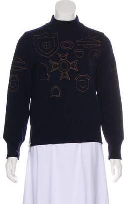 Sacai Wool Embroidered Sweater