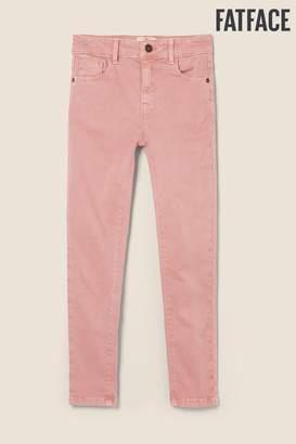 Fat Face Girls FatFace Pink 5 Pocket Jeggings - Pink