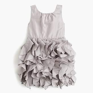 J.Crew Girls' Lyla dress in silk taffeta