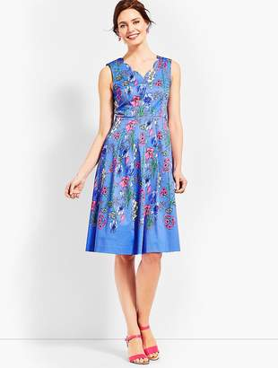 Talbots Fit-and-Flare Dress