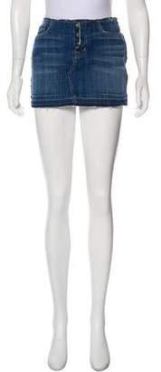 Hudson Denim Mini Skirt