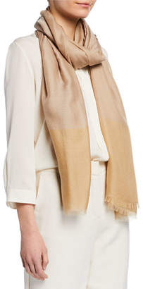 Loro Piana Cashmere-Silk Fringe Stole