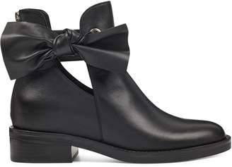 Tinasofa Bow Flat Booties