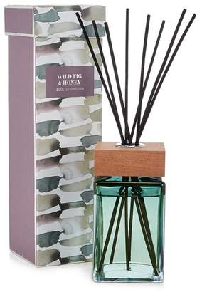 Debenhams Green Wild Fig And Honey Scented Reed Diffuser