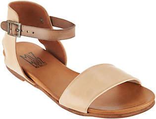 Miz Mooz Leather Ankle Strap Sandals - Alanis
