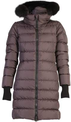 Herno Brown Zipped Padded Jacket