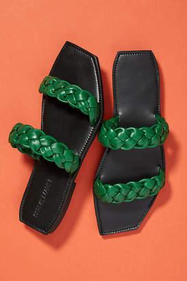 Parme Marin Braided Slide Sandals
