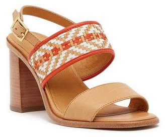 Frye Amy Woven 2-Piece Leather Sandal