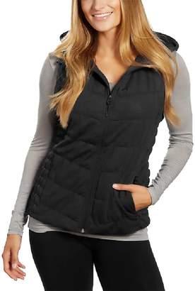 Blanc Noir Be by Ladies Hooded Vest (L, )