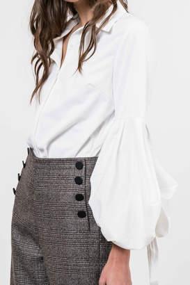 Lucy Paris Bubble Sleeve Blouse