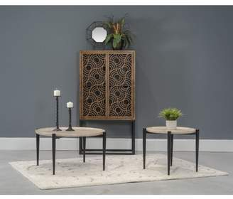 Home Source Industries Home Source Michel Metal End Table