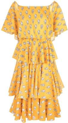 Rhode Resort layered floral dress