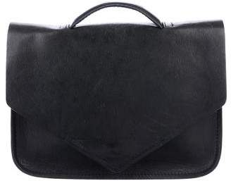 Steven Alan Leather Top Handle Bag