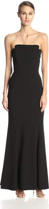 Jill Stuart Women's Strapless Fitted Column Gown