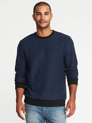 Old Navy Textured-Terry Crew Neck Sweater for Men