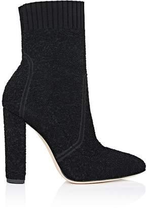 Gianvito Rossi Women's Isa Sock Bouclé Boots