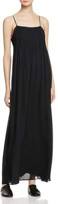 Vince Pintuck Silk Maxi Dress $485 thestylecure.com