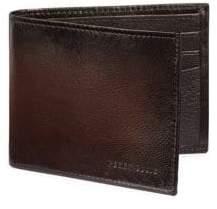 Perry Ellis Boxed Michigan Slim Leather Bi-Fold Wallet