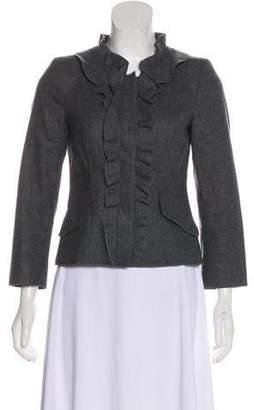 Philosophy di Alberta Ferretti Wool Cropped Jacket
