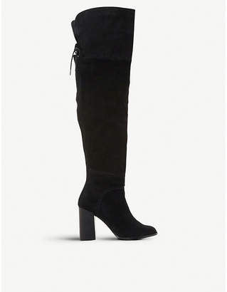 Steve Madden Novela suede over-the-knee boots