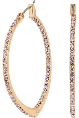Vera Bradley Sparkling Small Hoop Earrings Earring