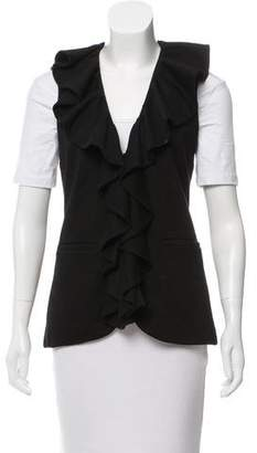 Alice + Olivia Casual Ruffled Vest