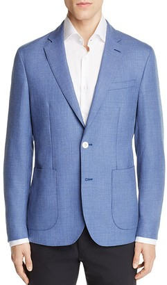 Hardy Amies Chambray Textured Slim Fit Sport Coat $695 thestylecure.com