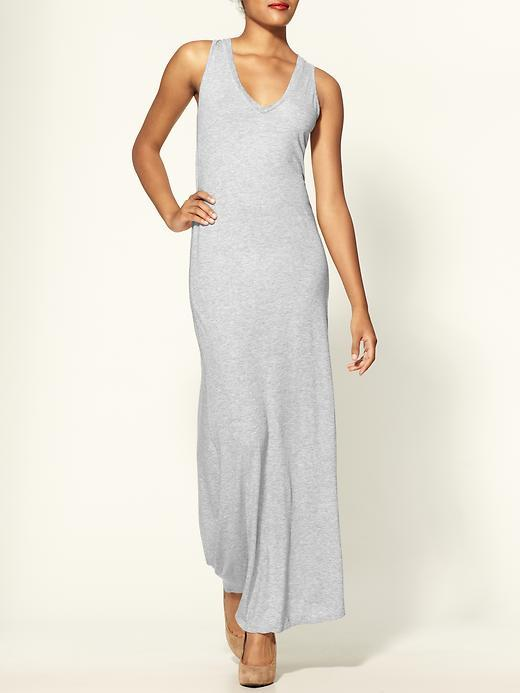 Monrow V-neck Racer Back Maxi Dress
