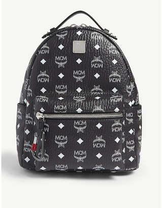 MCM Stark Visetos coated canvas backpack