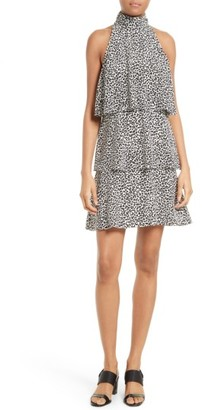 Women's Tracy Reese Print Tiered Halter Dress $328 thestylecure.com