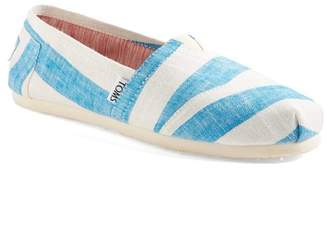 Toms Classic Stripes Slip-On Flat