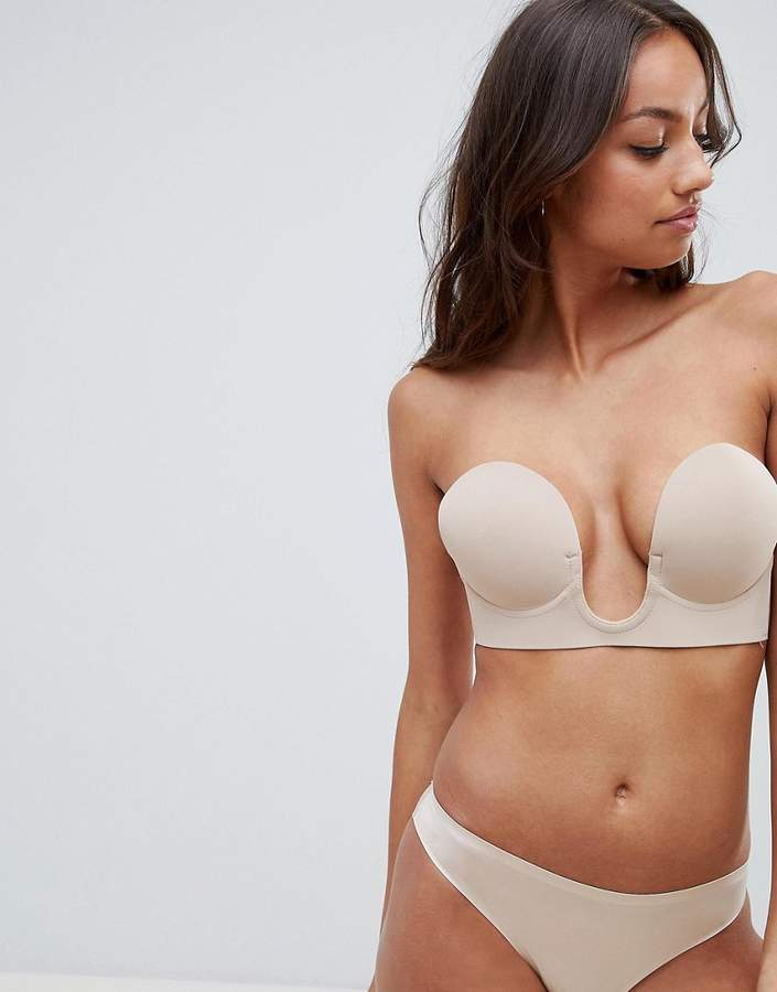 Fashion Forms U Plunge Backless And Strapless Bra