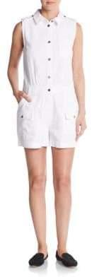 Greenwich Sleeveless Short Jumpsuit